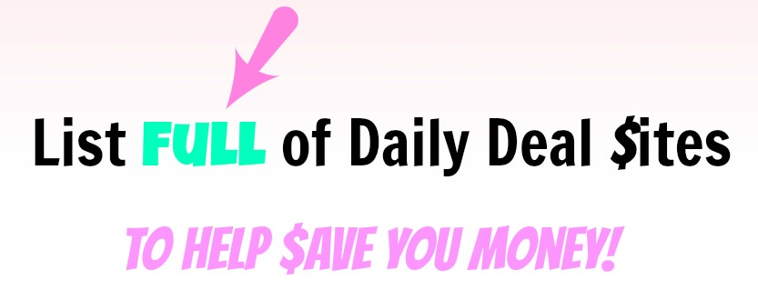 Daily Deal Site