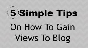 Blogging Tip