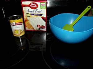 2 Ingredient Lemon Bar Cake