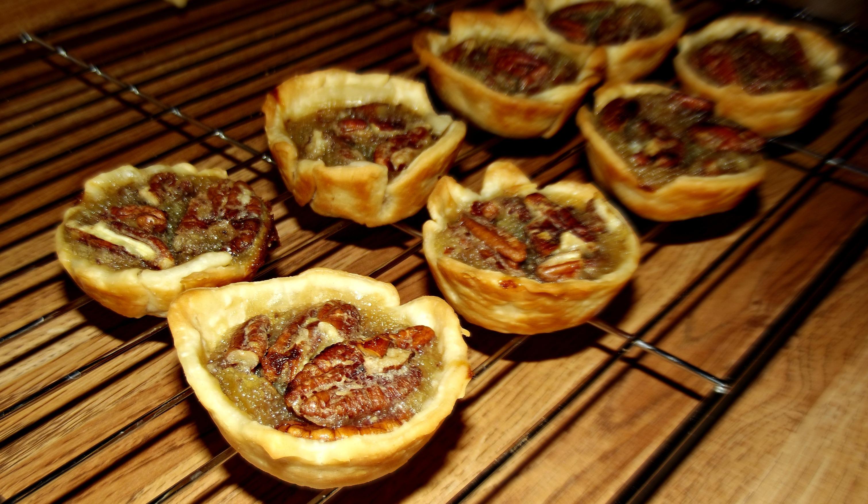 caramel tarts chocolate truffle tarts chocolate pecan pie tarts