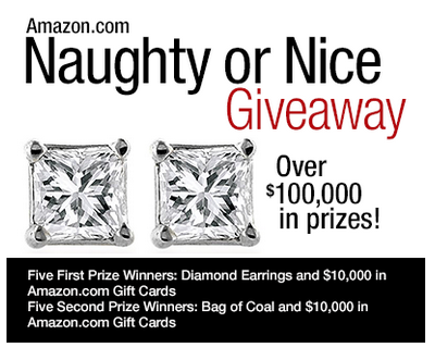 Amazon.com  Naughty or Nice Giveaway