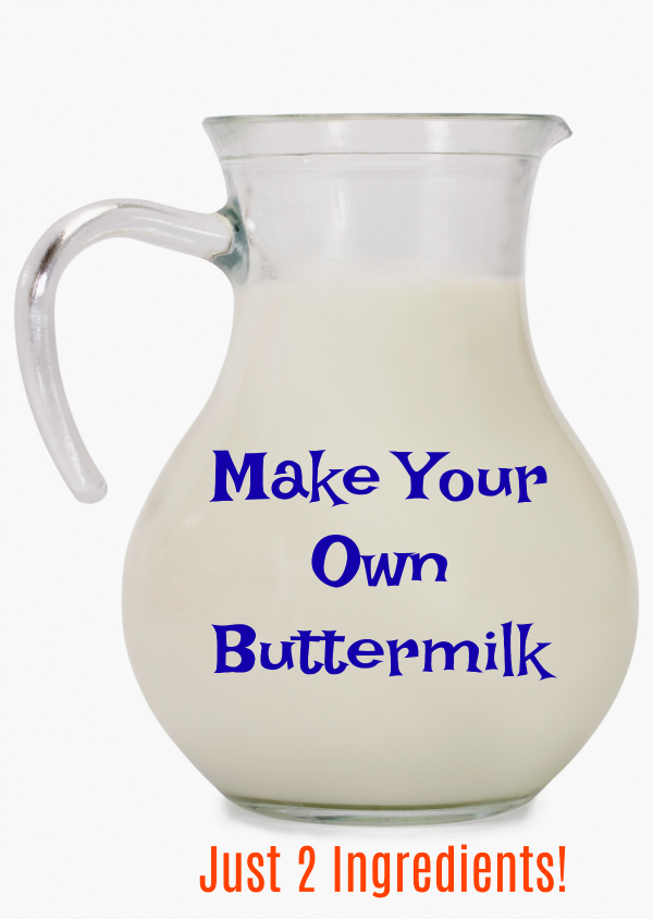Make Your Own Buttermilk with Just 2 Ingredients