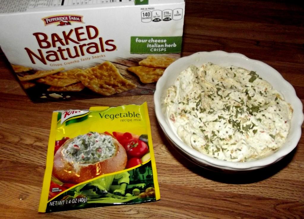 Vegetable Cream Cheese Dip Recipe