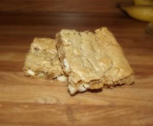 walnut Blondie Brownies