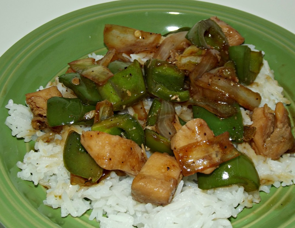 Chinese Peppered Chicken