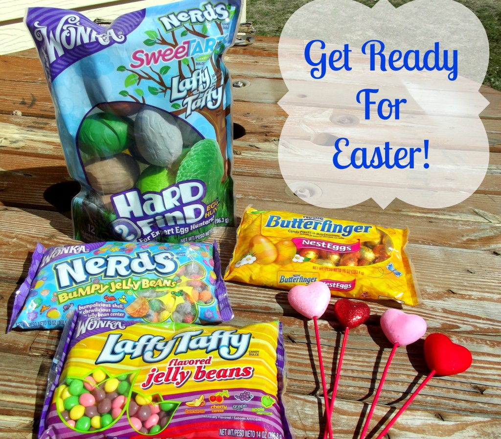 Wonka And Nestle Easter candy