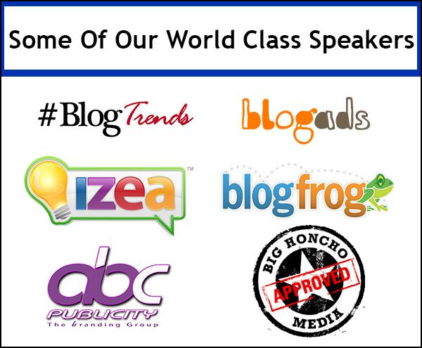 The Blog Workshop speakers