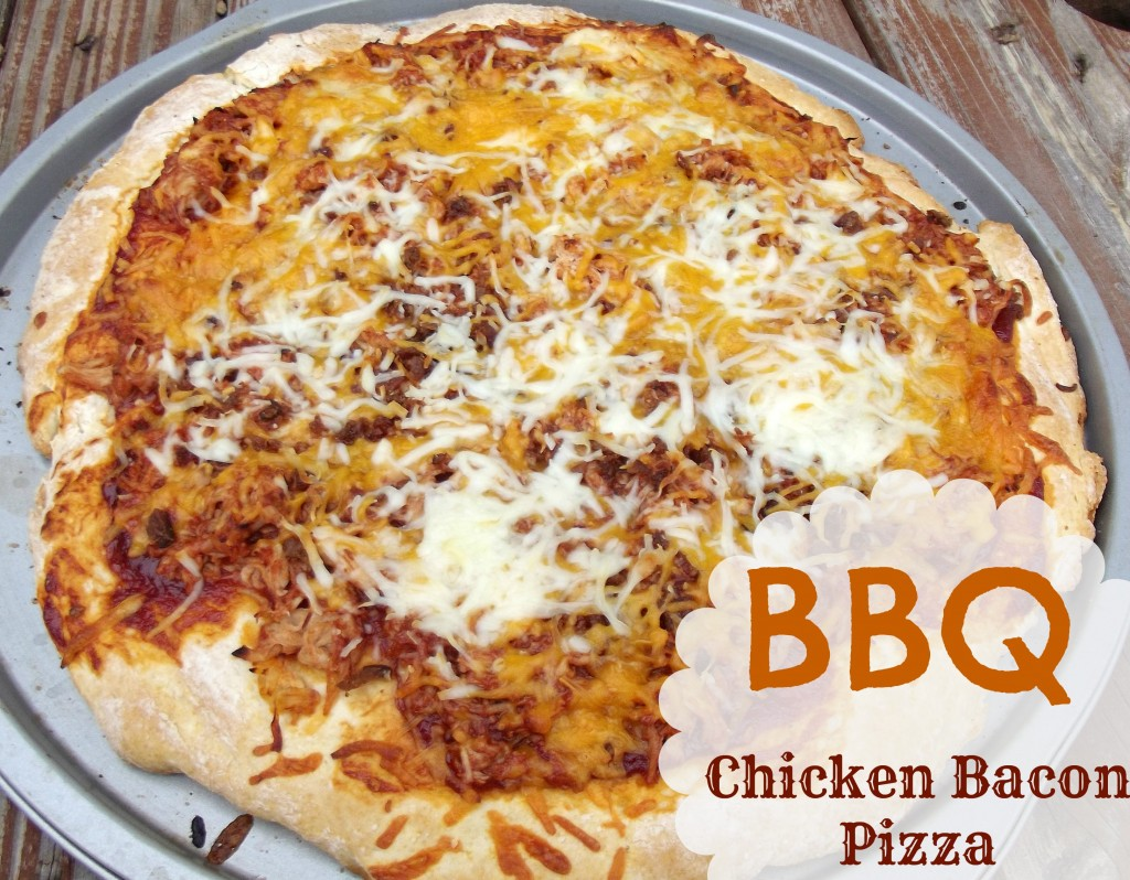 BBQ Chicken Bacon Pizza