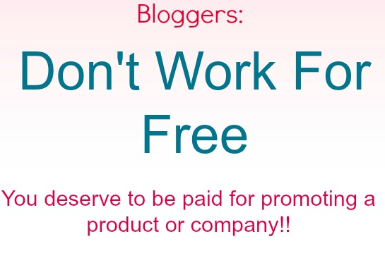 Don't Work For Free