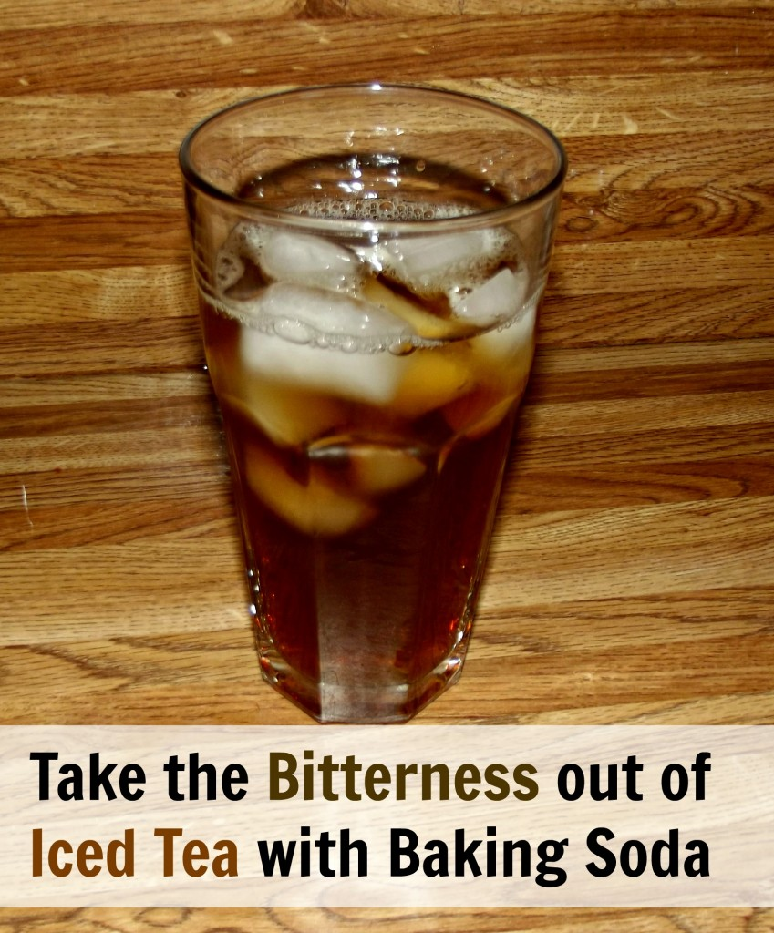 Take the bitterness out of tea