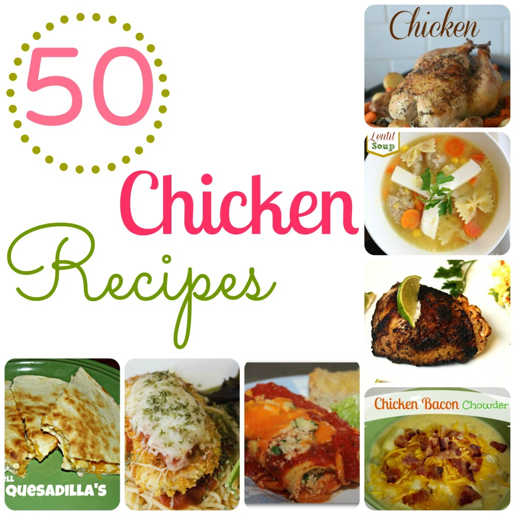 50 Chicken Recipes