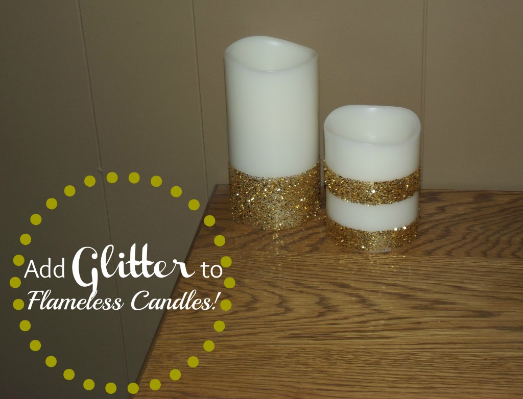 Flameless Candle Makeover
