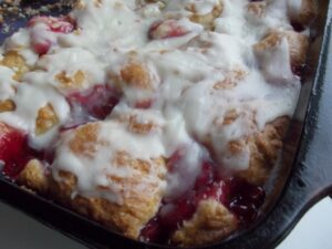 Cherry Coffee Cake Using Bisquick