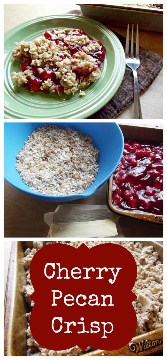 Cherry Pecan Crisp Recipe