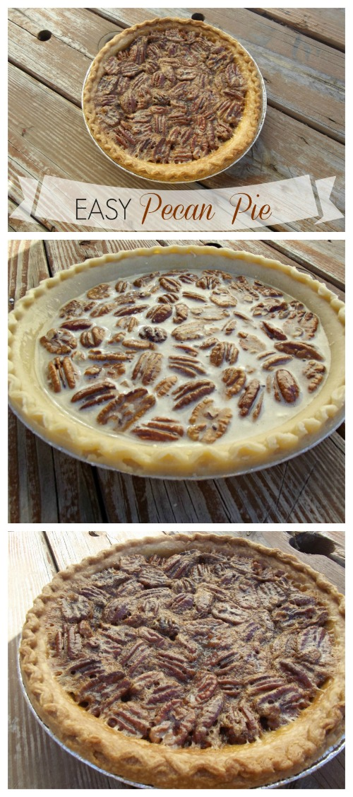 This delicious and easy pecan pie recipe is so simple that even a beginner can bake it! It makes the perfect Thanksgiving dessert, or go-to pie for any time of year.
