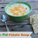 Really Easy Crock Pot Potato Soup