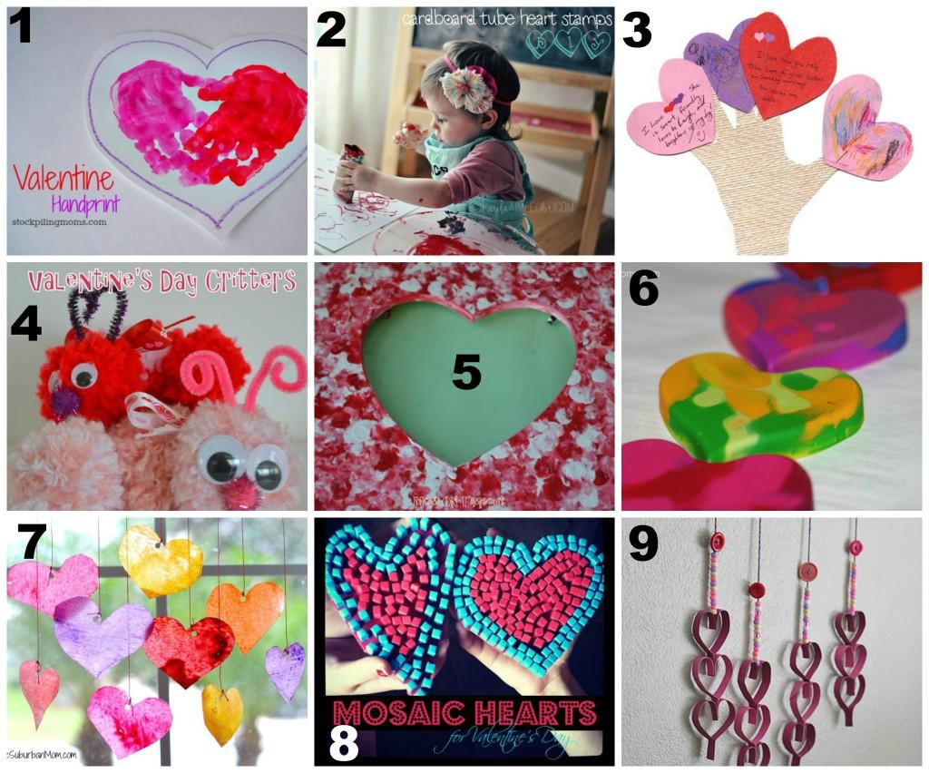 Kid Friendly Valentines Day Crafts