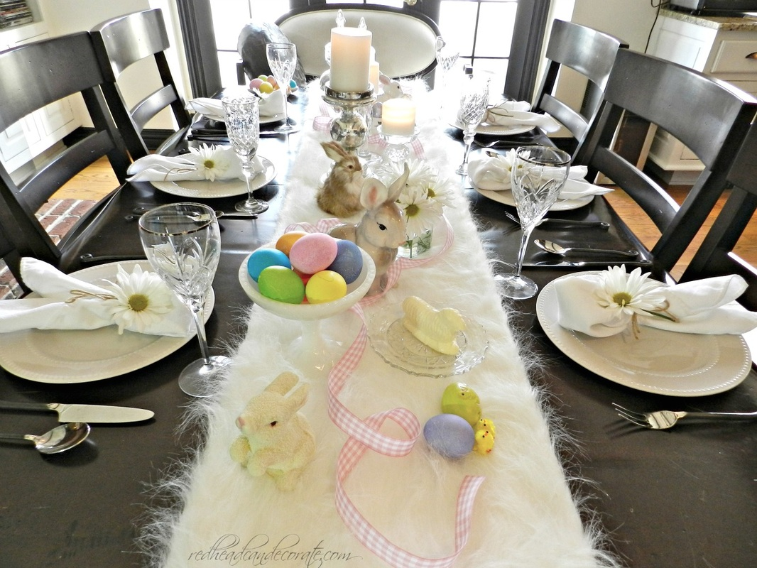 Easter Brunch Table Idea