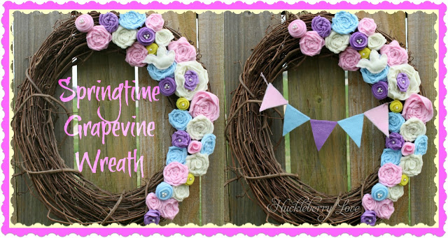 Springtime Grapevine Wreath