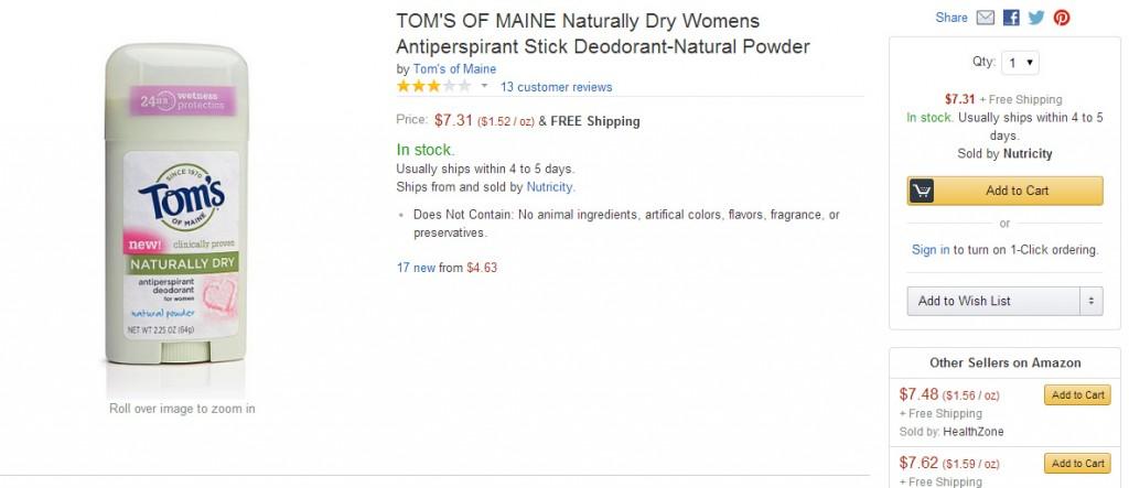 Tom's of Maine #shop #cbias
