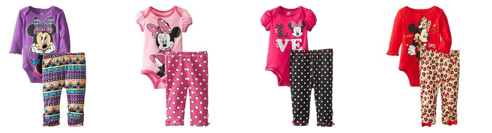 Disney Baby Bodysuit and Pants Sets