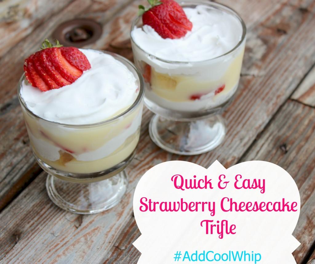 Strawberry Cheesecake Trifle #shop