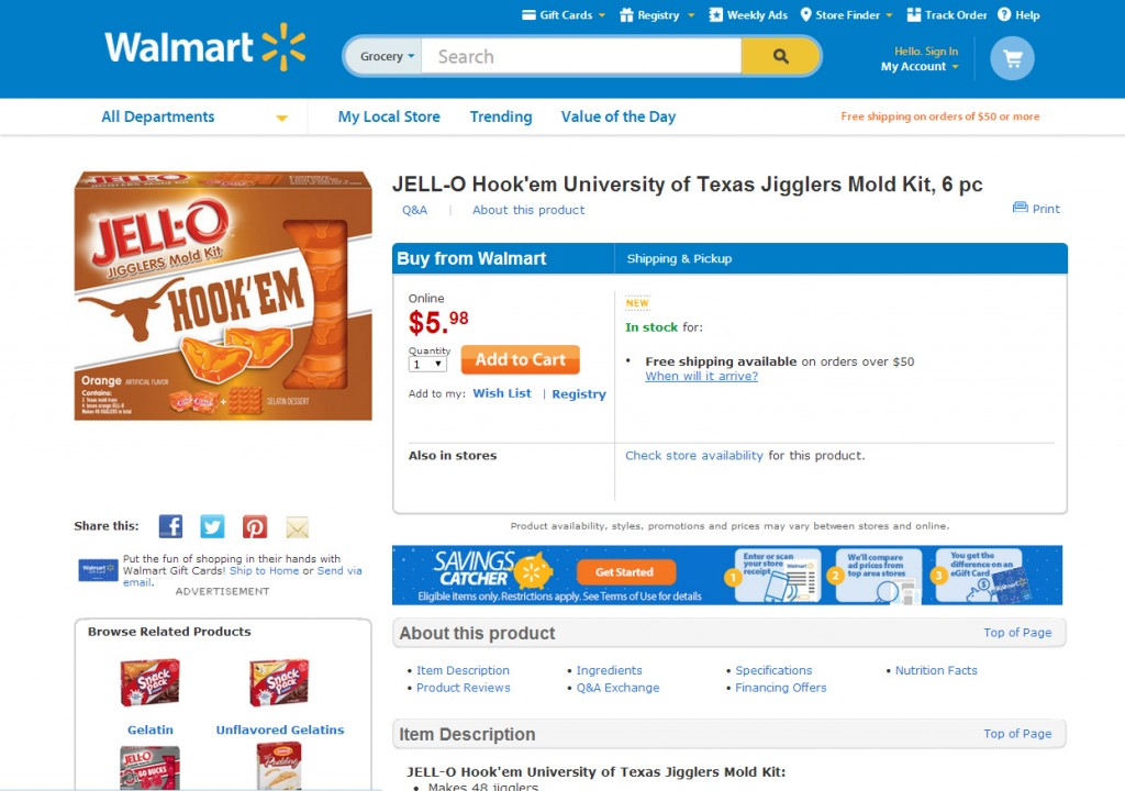Jell-O University Molds #TeamJellO