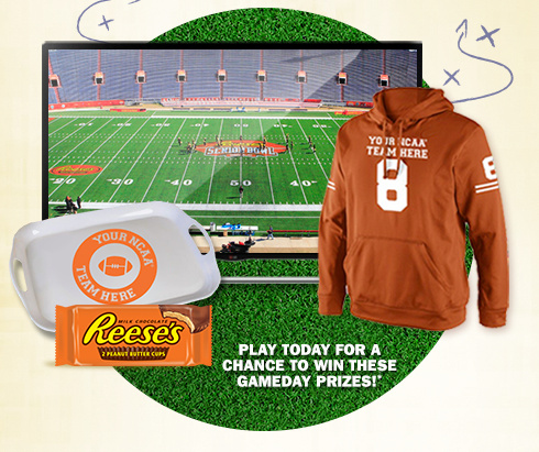 Reese's Instant Win Game