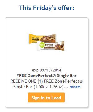 FREE ZonePerfect® Single Bar