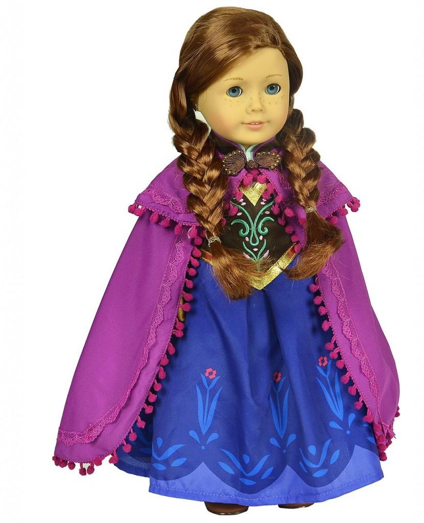Disney Anna American Doll Clothes