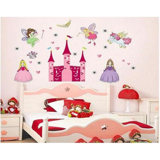 princess castle decals