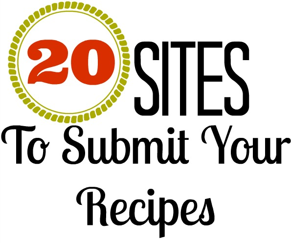 Where to Submit Recipes