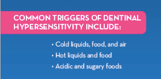 Triggers for Tooth Sensitivity