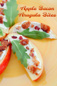 Apple Bacon Arugula Bites – Great Appetizer for Parties