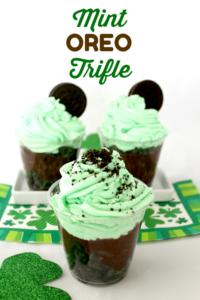 Mint Oreo Trifle Recipe