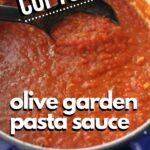 Olive Garden Pasta Sauce Recipe