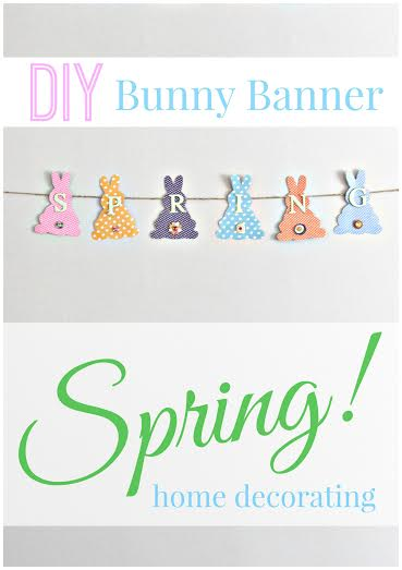 Spring Bunny Banner