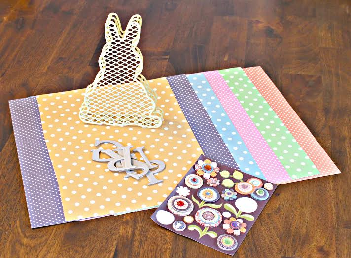 Bunny Banner Supplies