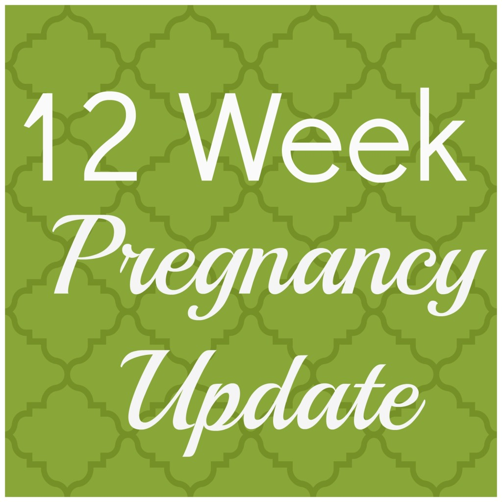 12 week pregnancy update