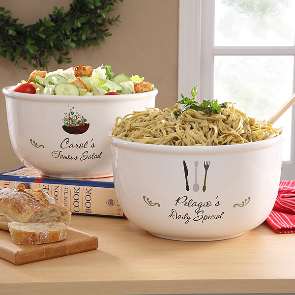 Personalized Bowls