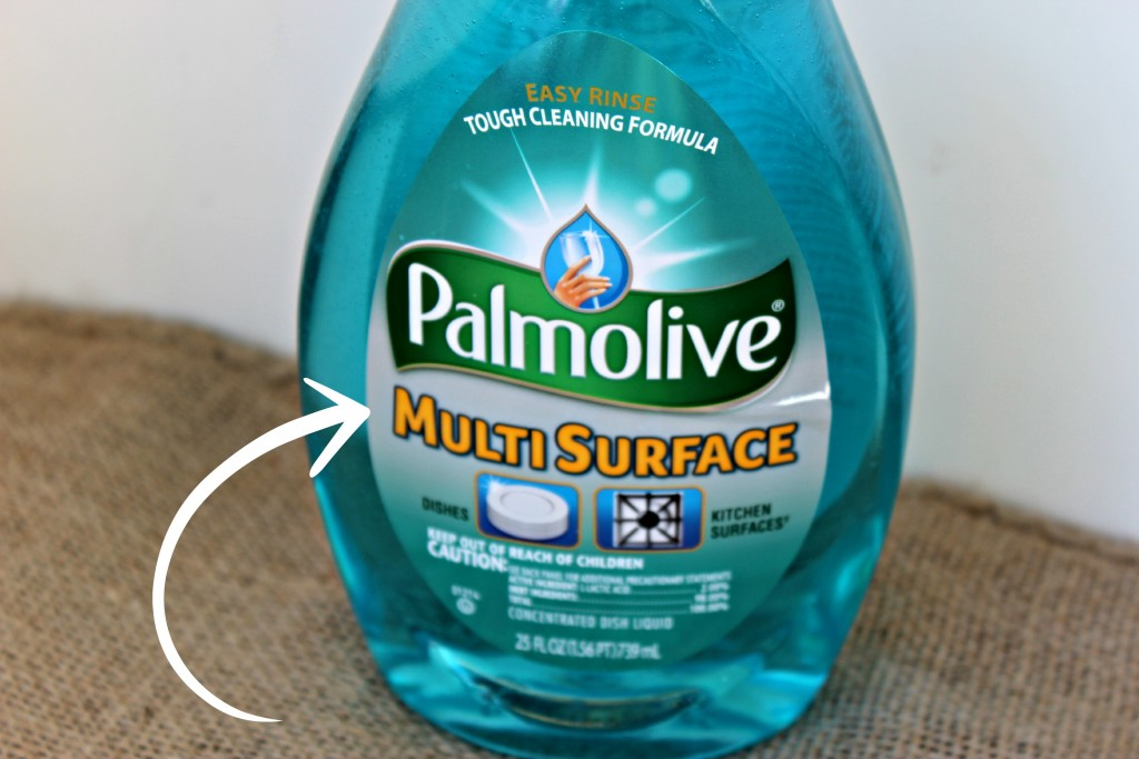 Palmolive Multi Surface Dish Soap Kitchen Cleaning Time