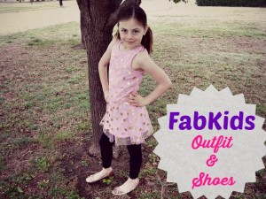 My April FabKids Outfit + Shoes This Time! Plus Deal for New Members BOGO Sale!