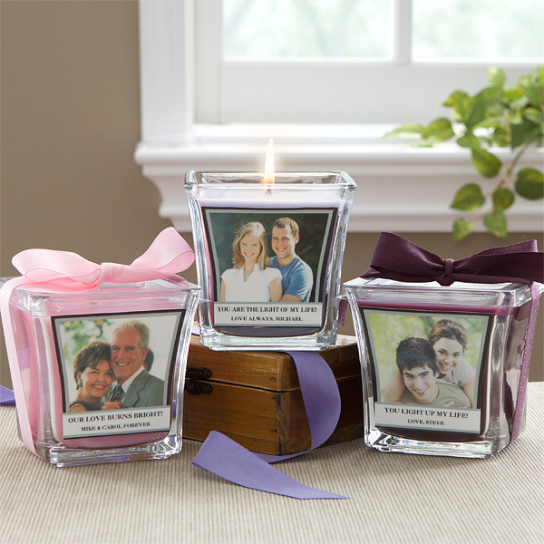 personalized spa candles