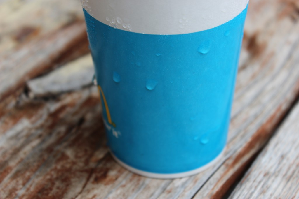 Condensation on cup