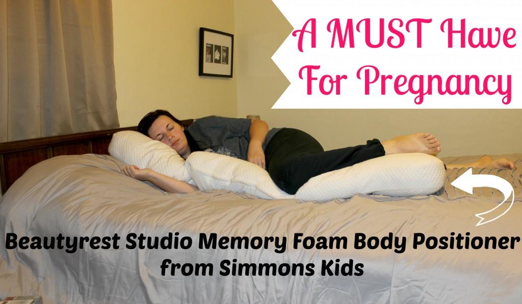 Beautyrest Studio Memory Foam Body Positioner from Simmons Kids