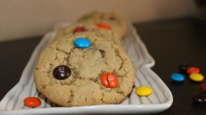 I Am Obsessed With These Monster Cookies!