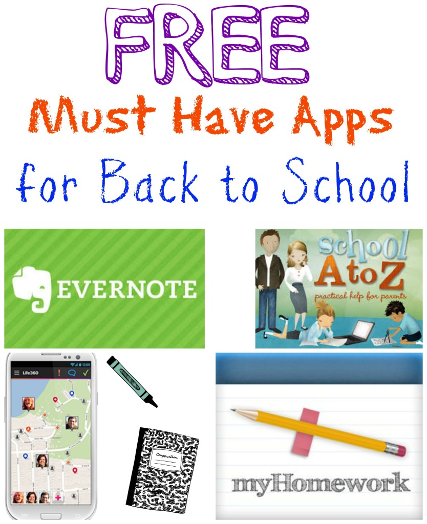 Must Have Back to School Apps
