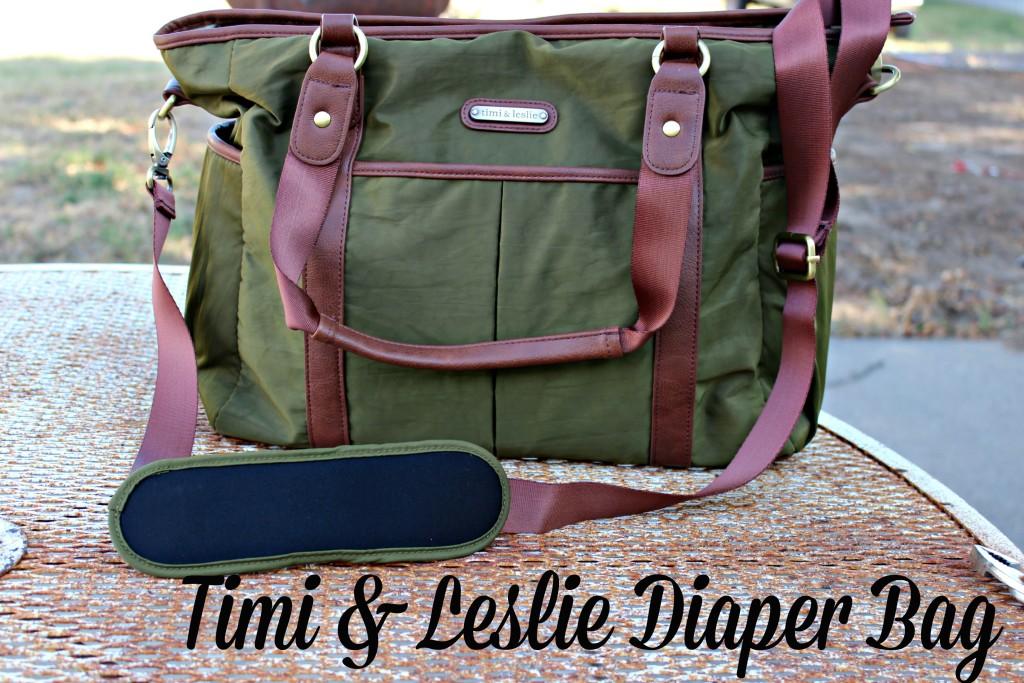 Timi & Leslie Diaper Bag