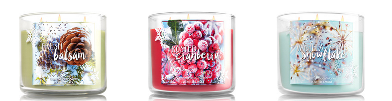 3 Wick Candles  2 for  24   Sale   Bath   Body Works