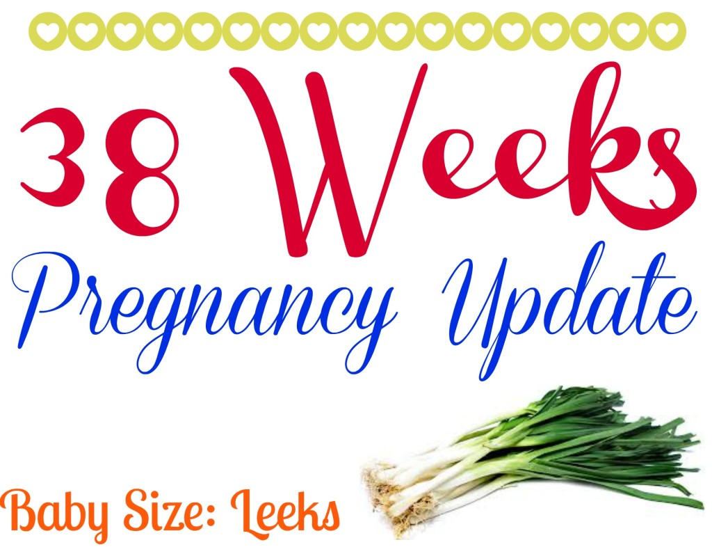 38 Weeks Pregnancy Update